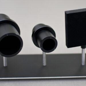 Black Coated Tube Laser Beam Dump 30mm, 51mm, 80mm