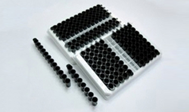 black coated microtiter plates
