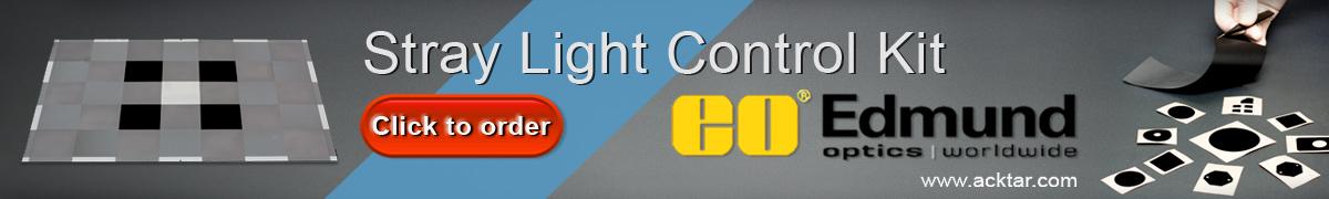 stray light control kit banner