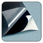 Spectral Black self-adhesive coated foil sheet