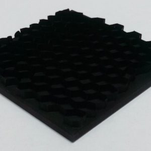 Light absorbing panels: Hexa Black Square without holes