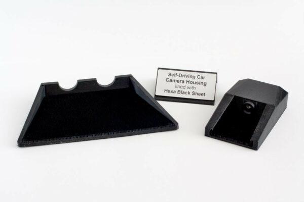 Hexa Black Light Trap Sheet for Automotive Camera