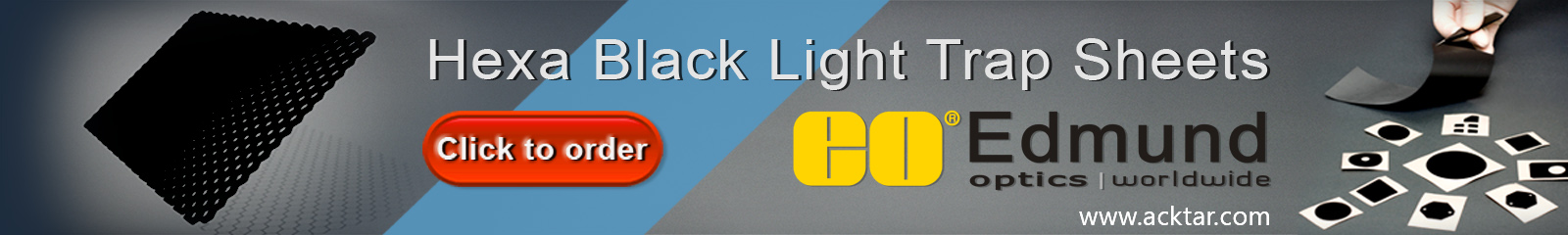 hexa black light trap sheets banner
